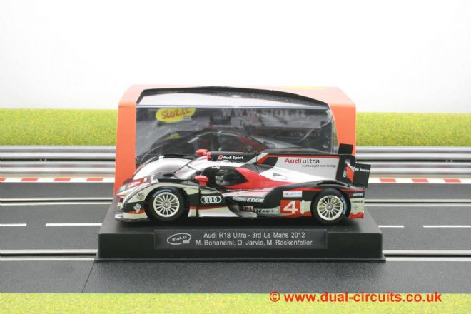 Slot It SICA38A Audi R18 Ultra #4 3rd Le Mans '12